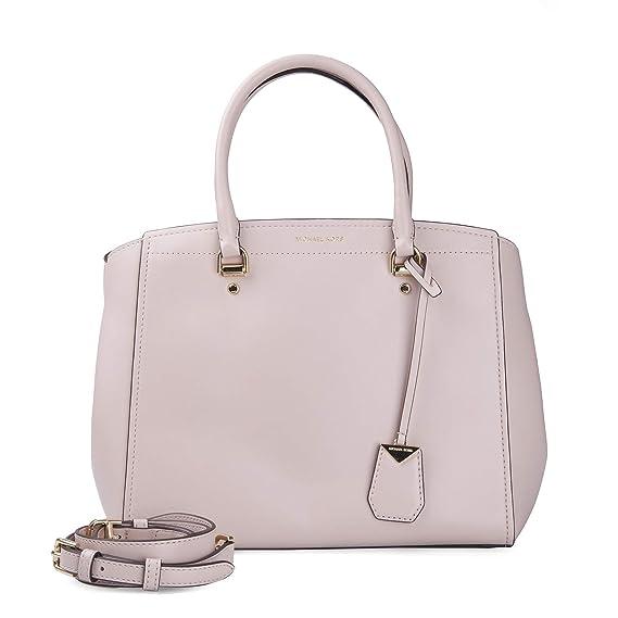 ff915011a Michael Kors Benning Xl Satchel, Women's Pink (Soft Pink), 14x35x23 cm (B x  H T): Amazon.co.uk: Shoes & Bags