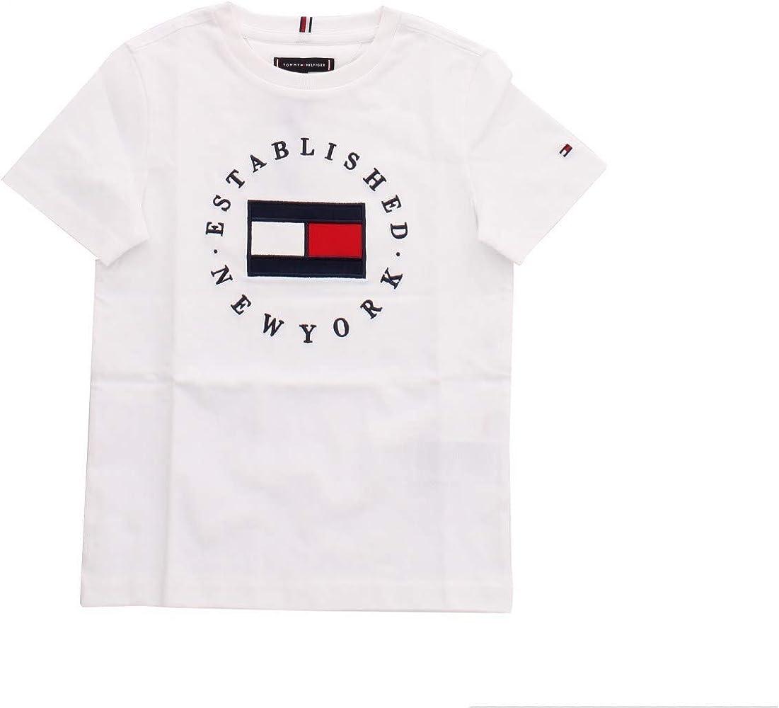 Tommy Hilfiger KB0KB05718 Camiseta niño: Amazon.es: Ropa y accesorios