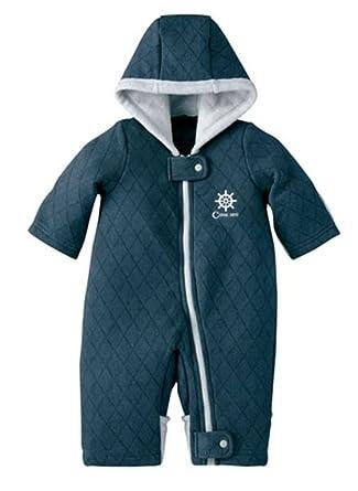 c11f3be1e Amazon.com  Kirinstores Baby Boy Snowsuit Toddler Navy Winter Suit ...