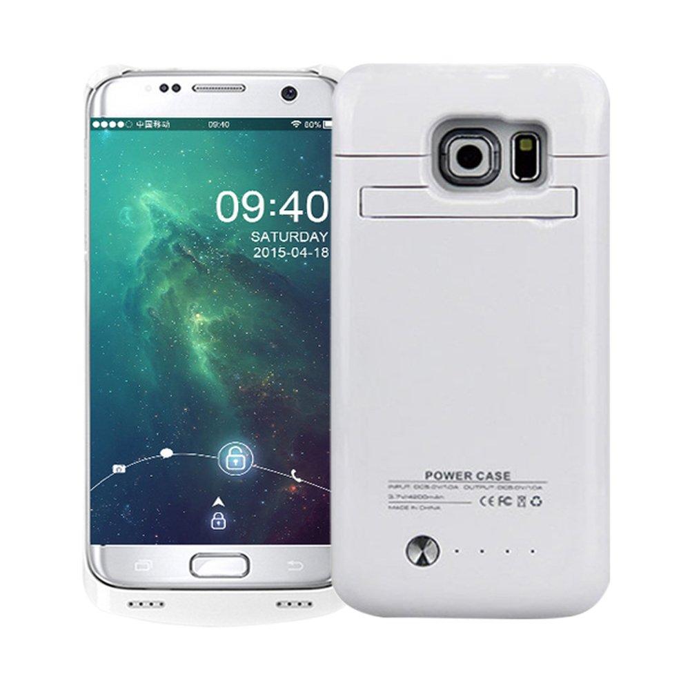 Funda Con Bateria De 4200mah Para Samsung Galaxy S6 Idealforce [797t6cxc]