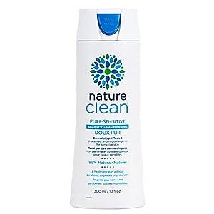Nature Clean Pure Sensitive Shampoo, Hypoallergenic, Sensitive Skin Tested, Fragrance-Free, 10 fl. oz.