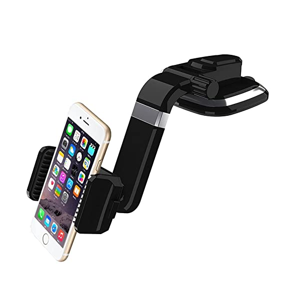 the latest 3e159 1d7d4 COSK Dashboard Car Phone Mount, Windshield Phone Car Holder for iPhone 7 /  7 Plus / 6S / 6S Plus / Galaxy S8 / S8 Plus / S7 / S7 Edge / LG Smartphone