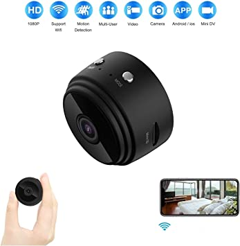 1080P HD Mini Hidden Spy Wireless Wifi Nanny Camera Digital Video Recorder Cam