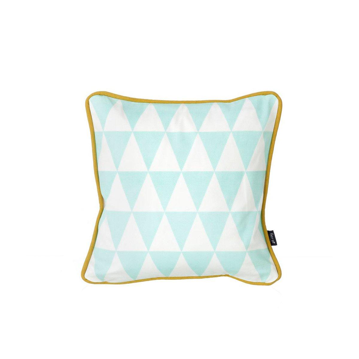 Ferm Living - Cojín Little Geometry - Color : Menta: Amazon ...