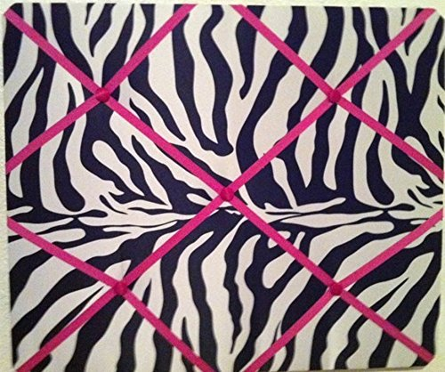Amazon zebra animal print hot pink accent french memo board 16 zebra animal print hot pink accent french memo board 16 x 20 kitchen bedroom dcor junglespirit