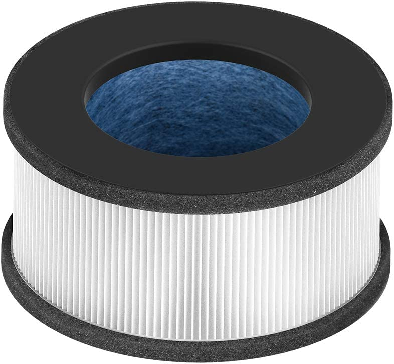 Bulex Ture HEPA Air Purifier Filter HEPA Air Purifier Filter - 4-Stage Filtration Includes Pre-Filter HEPA Filter Activated Carbon Filter