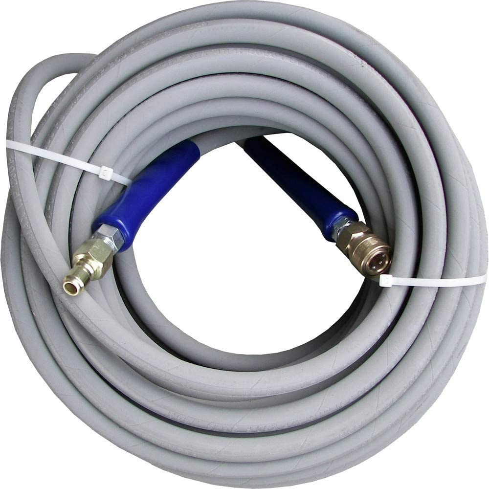 "200/' ft 3//8/"" Blue Non-Marking 4000psi Pressure Washer Hose 200 FREE SHIPPING"