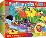 MasterPieces Sing-A-Long The Itsy Bitsy Spider - 24 Piece Kids Puzzle with 30 Second Sound Chip