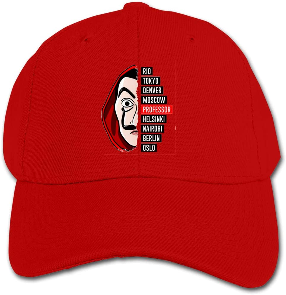 TkYioP Baseball Hat Happiness Labor Day Adjustable Breathable Sports Truckers for Women//Men