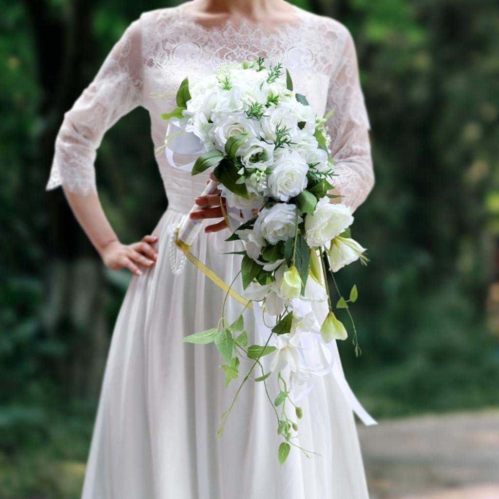 Weinrot 30-56cm PETSOLA Hochzeit Strumpfband Set Brautdusche Hochzeit Braut Zubeh/ör Hochzeitsbevorzugungen 30-56cm Aubergine