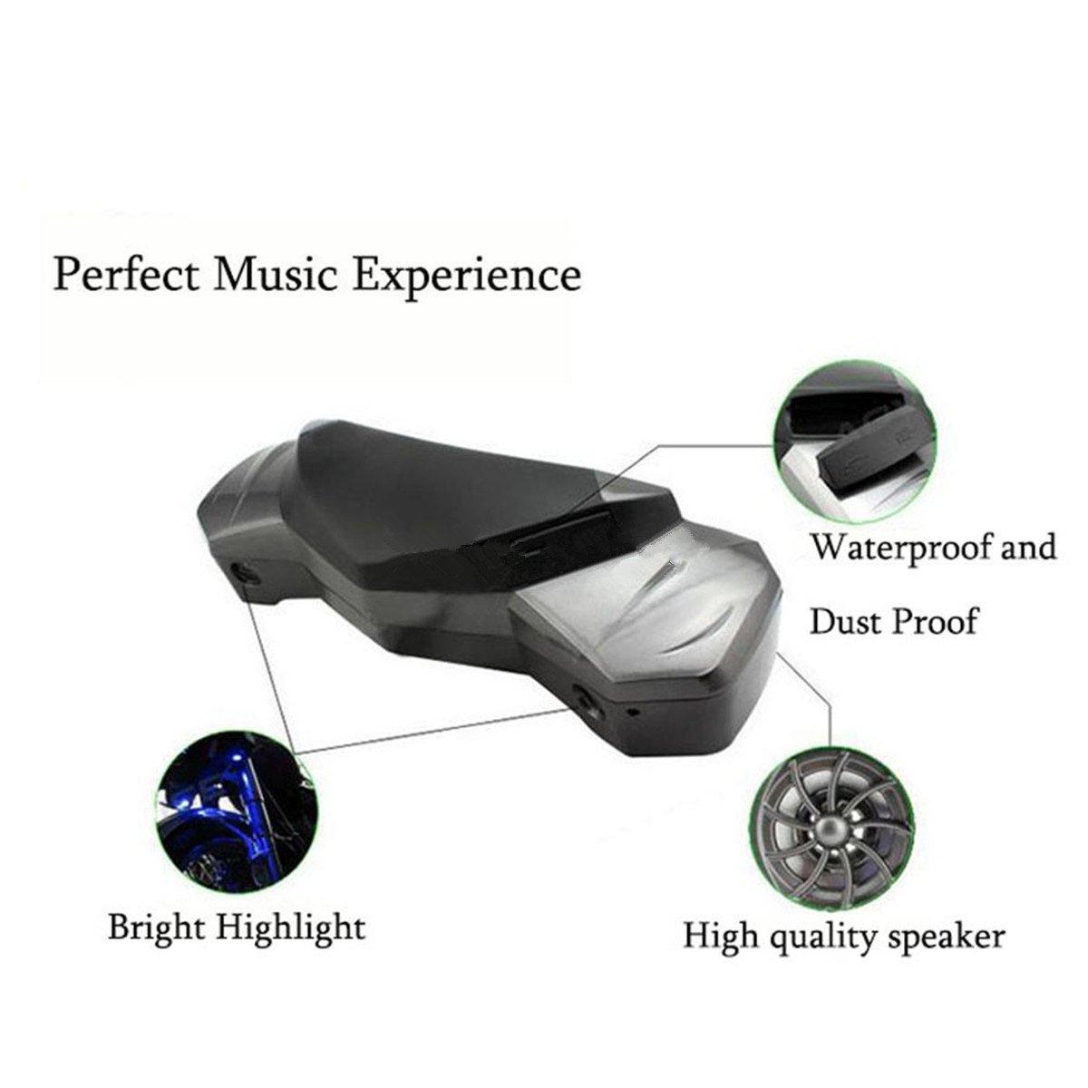 Fochutech Bluetooth Speaker For Honda Series Motorcycle Accessory Spotlight Wiring Diagram Tf Usb Mp3 Fm Radio Player Waterproof 12v Car Electronics