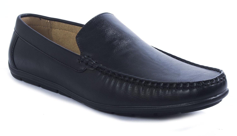 Amazon.com | Aldo Rossini Mens Steve-1 Slip-On Loafer Driving Shoes | Loafers & Slip-Ons