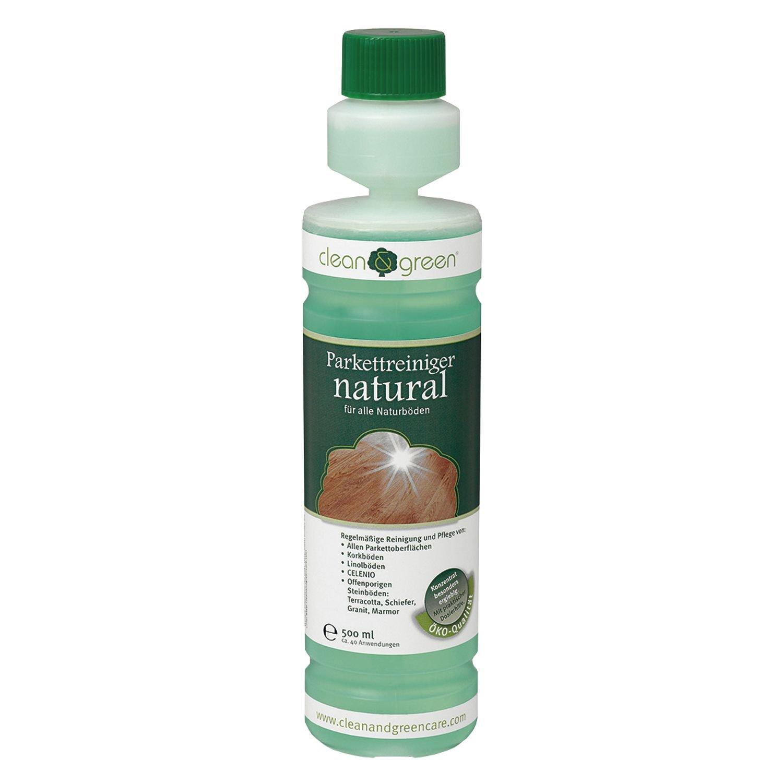 clean & green, Parkettreiniger natural, 500 ml, 1 Stück, 407633 1 Stück