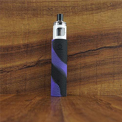 (ModShield for Aspire RockeX Silicone Case ByJojo Protective Cover Shield Sleeve Wrap Skin (Purple/Black) )