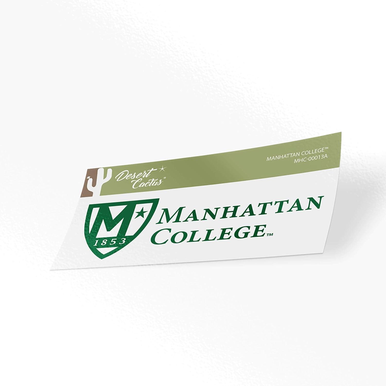 Manhattan College Jaspers NCAA Vinyl Decal Laptop Water Bottle Car Scrapbook (Sticker - 00013A)