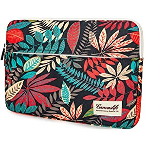 Canvaslife Colorful leaves Laptop Sleeve 13 Inch Macbook Air 13 Case Macbook Pro 13 Sleeve and 13.3 Inch Laptop Bag