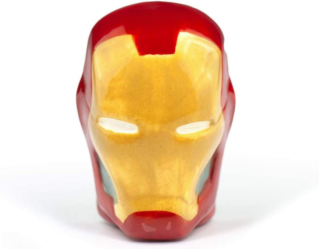 Iron Man Refrigerator Magnet | Bring Marvel's Legendary Superhero To Your Kitchen | 2 Inches Tall 3D Fridge Magnet