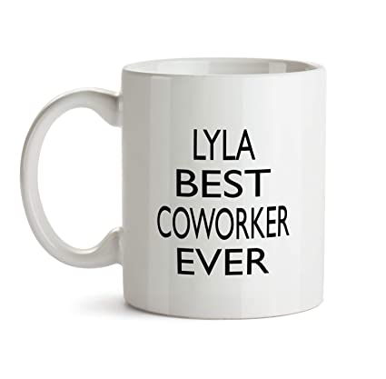 Lyla Best Co Worker Ever Gift Mug