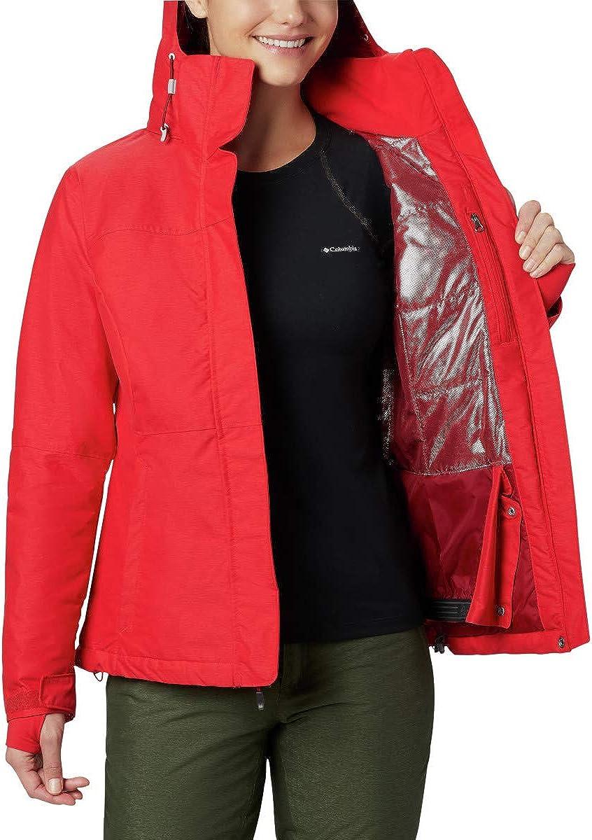 S Rojo Columbia Alpine Action Chaqueta OH Ski de esqu/í Red Lily 658 Mujer