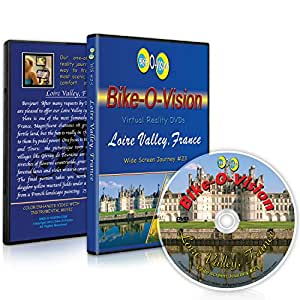 Bike-O-Vision Cycling Video- Loire Valley, France (Widescreen DVD #23)