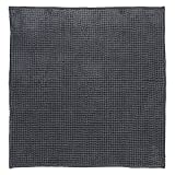 DIFFERNZ 31.220.04 Candore Bath Mat, Charcoal