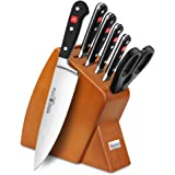 Wusthof Classic 7-piece Slim Knife Block Set (Cherry)