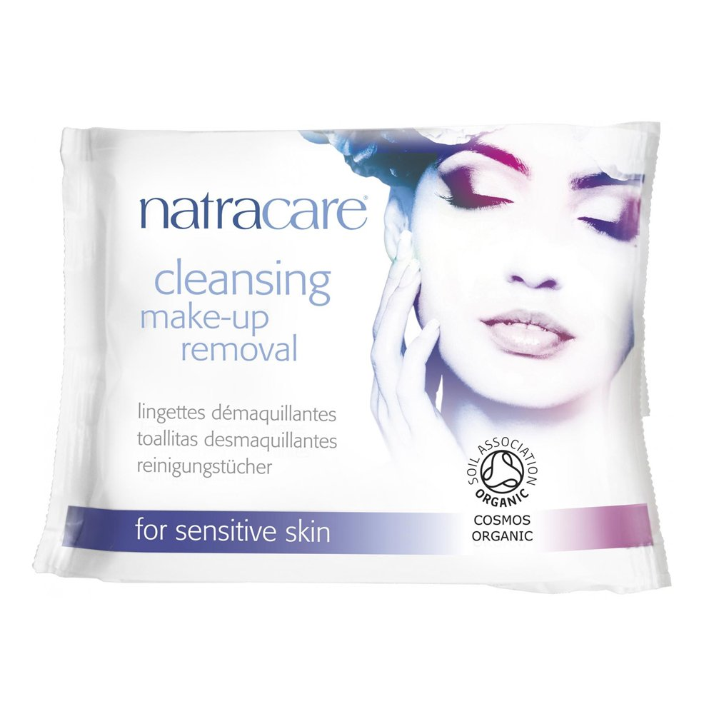 Natracare Cleansing Make Up Removal Wipes 78675