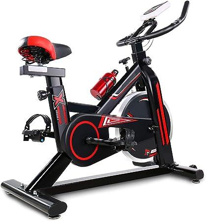 YL Spinning Bike Equipo de Ejercicios para el hogar con 400 LB de ...