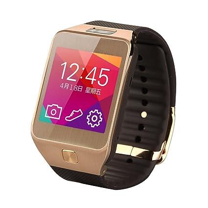 Netspower G2 Cámara impermeable a prueba de polvo SmartWatch tarjeta TF Fitness y Actividad Rastreador inteligente Bluetooth Touch Screen 4.0 Diseño ...