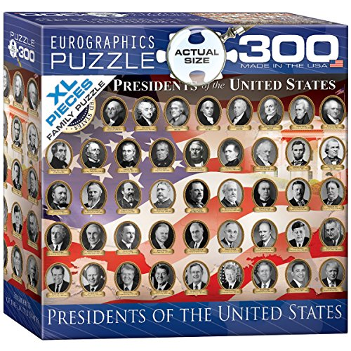 EuroGraphics US Presidents Jigsaw Puzzle (300-Piece)