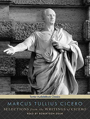 Download Selections from the Writings of Cicero