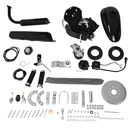 Kit de motor de bicicleta de 50 cc, bicicleta motorizada de 2 ...