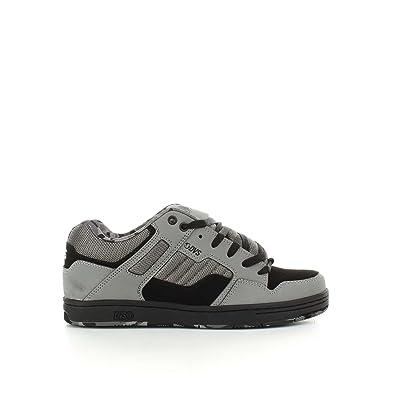 78c9b9f1f050a Image Unavailable. DVS Grey Charcoal Leather Nubuck Enduro 125 Shoe ...