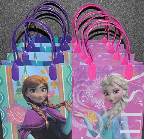 Disney Frozen Party Favor Goodie Gift Bags 12 Count -