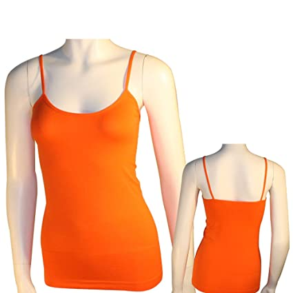a9387b6c2b6d1a Image Unavailable. Image not available for. Color  Women s Basic Stretch  Camisole Tank Top ...