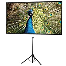 """celexon 80"""" Tripod Projector Screen Ultra Lightweight 