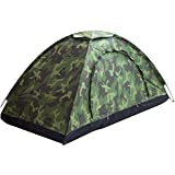 Sutekus Tent Camouflage Patterns Camping Tent Backpacking Tent for Camping Hiking 【Outdoor Equipment】