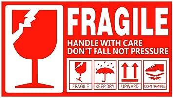 vishyogi printers fragile keep dry this side up upwards pressure rh amazon in fragile logo png fragile logo vector