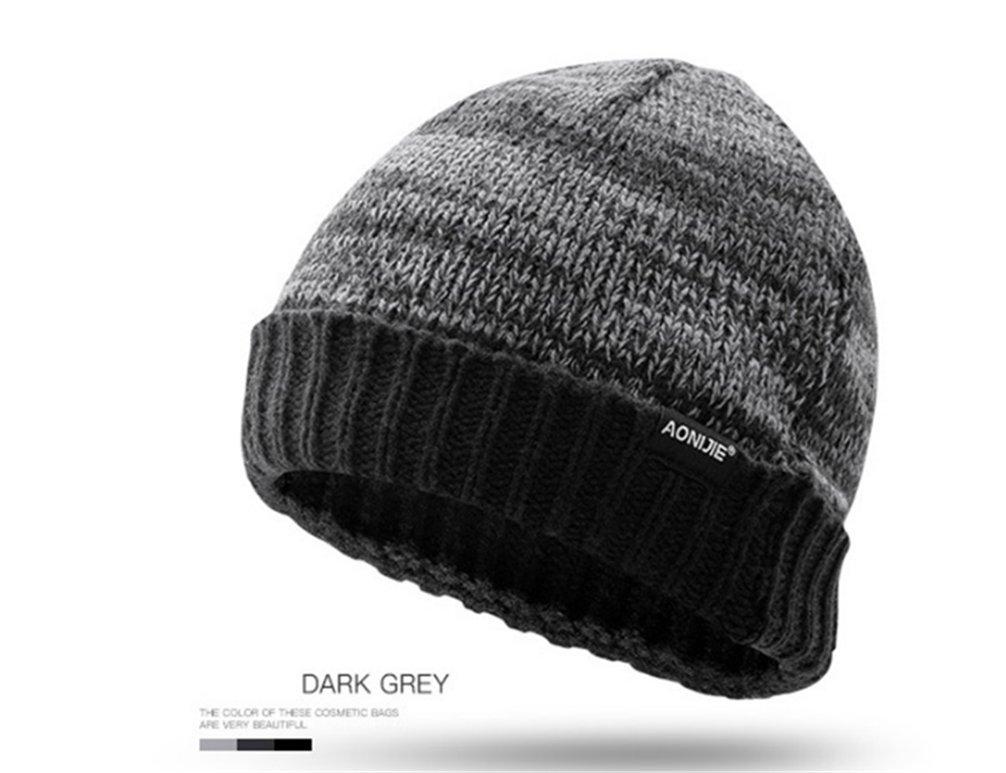AONIJIE al Aire Libre Caliente Invierno Sombrero de Punto Gorrita Tejida para Hombres y Mujeres