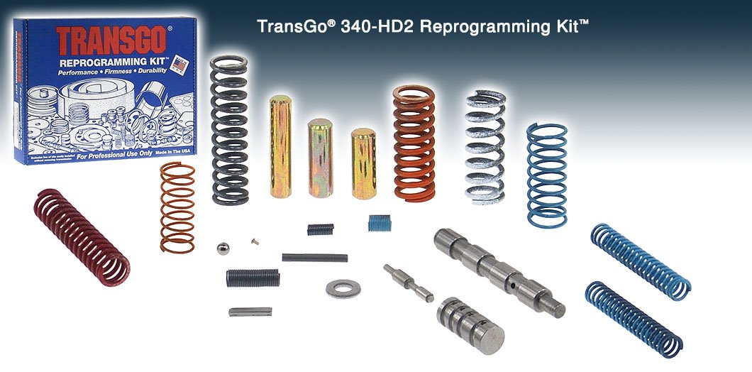 Transgo 340HD2 Reprogramming Kit A343F A340E