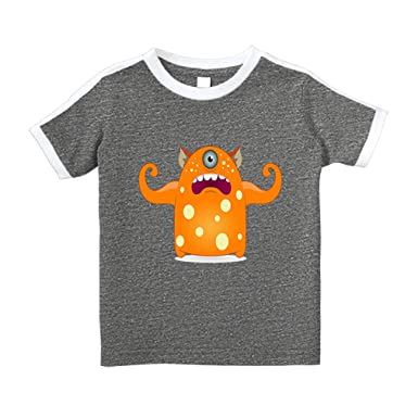 236ec496 Cute Rascals Monster Strong Cat Ears Cartoon Cotton Short Sleeve Crewneck  Unisex Toddler T-Shirt. Sorry ...