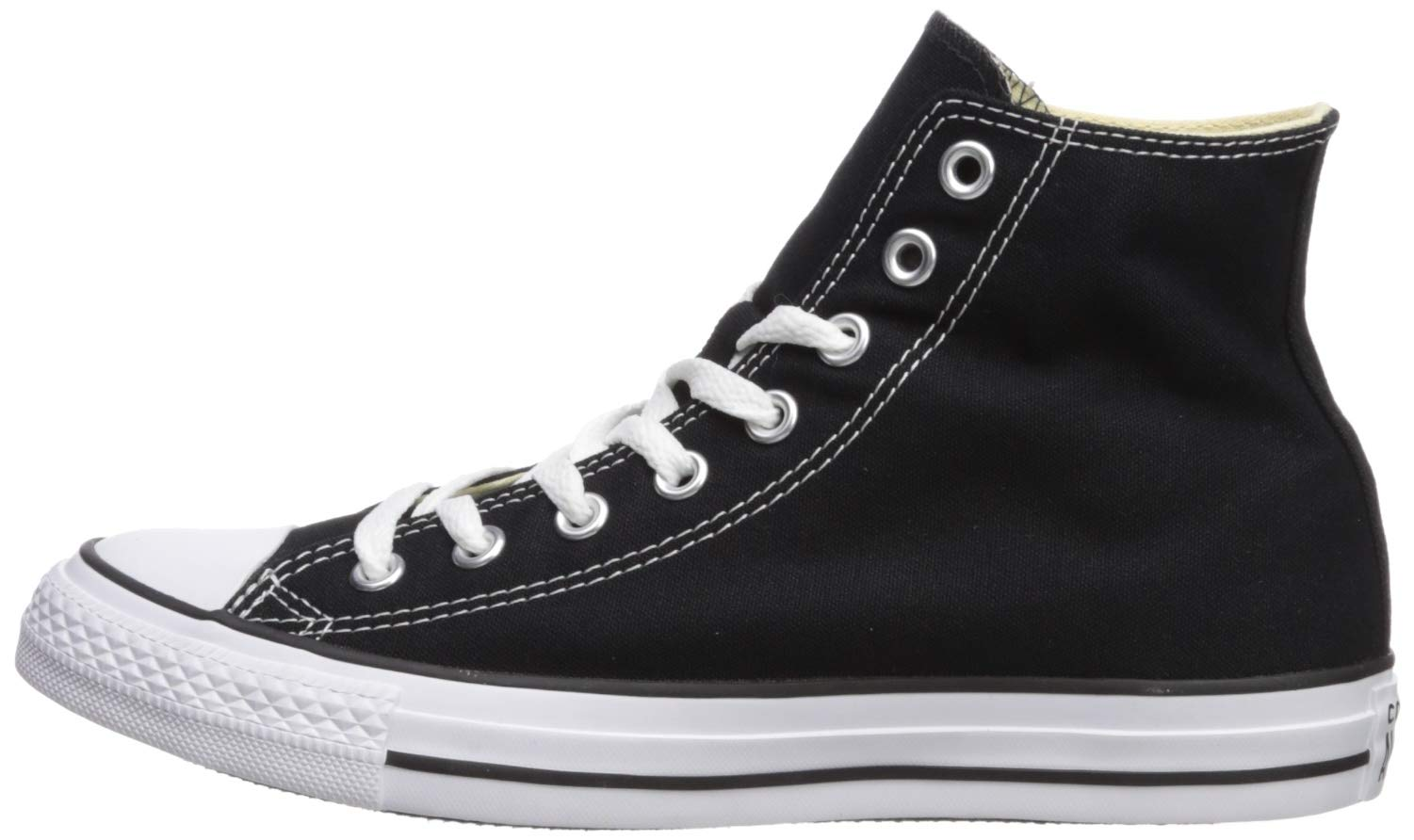 Converse M9160: Chuck Taylor All Star High Top Unisex Black White Sneakers by Converse (Image #5)