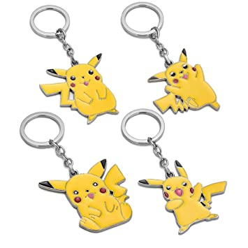 WQWQ Llavero Pokémon, Pokémon Pikachu, Llavero ...
