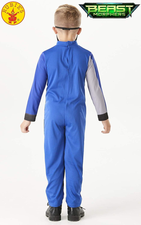 Costume da Power Rangers Blu per Bambino 5//6 Anni 105//116 cm 105//116 cm Costume da Power Rangers Blu per Bambino 5//6 Anni Generique