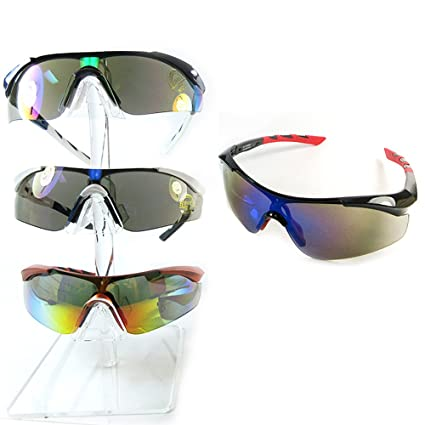 1afb0b689e189 Amazon.com   1 Mens Sunglasses Polarized Sports Cycling Glasses UV400 Lens  Bike Driving   Office Products