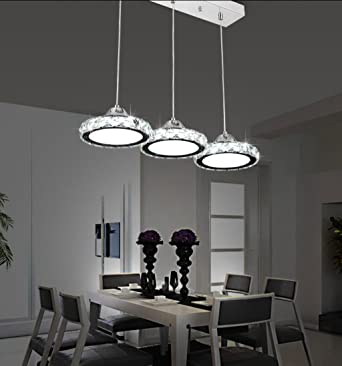 Restaurant Crystal Chandelier Lighting Including