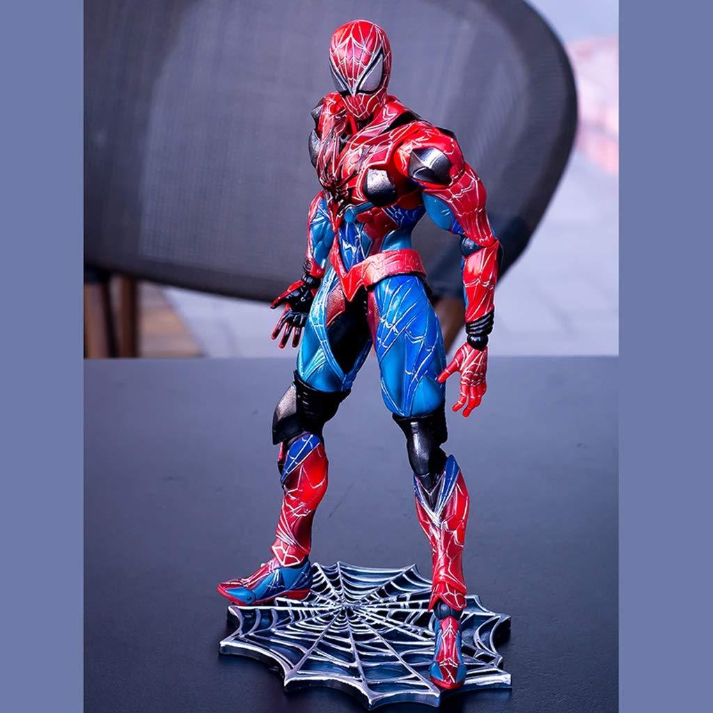 Reducción de precio FH WJ-Juguete/Spiderman Movable Multi-Accesorio Modelo Doll Toy Statue