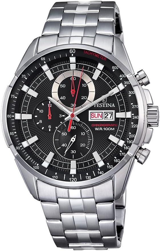 Festina 32001982 - orologio da uomo, analogico, al quarzo, in acciaio inox F6844/4
