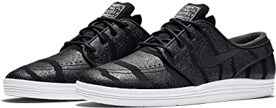 buy online 18328 a1ded Nike LUNAR STEFAN JANOSKI mens skateboarding-shoes 654857-004 8 - BLACK PURE  PLATINUM