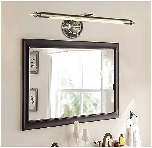 over bathroom cabinet lighting. HOHE SHOP/ European American LED Mirror Headlights Waterproof Bathroom Cabinet Light Dresser Lights Over Lighting